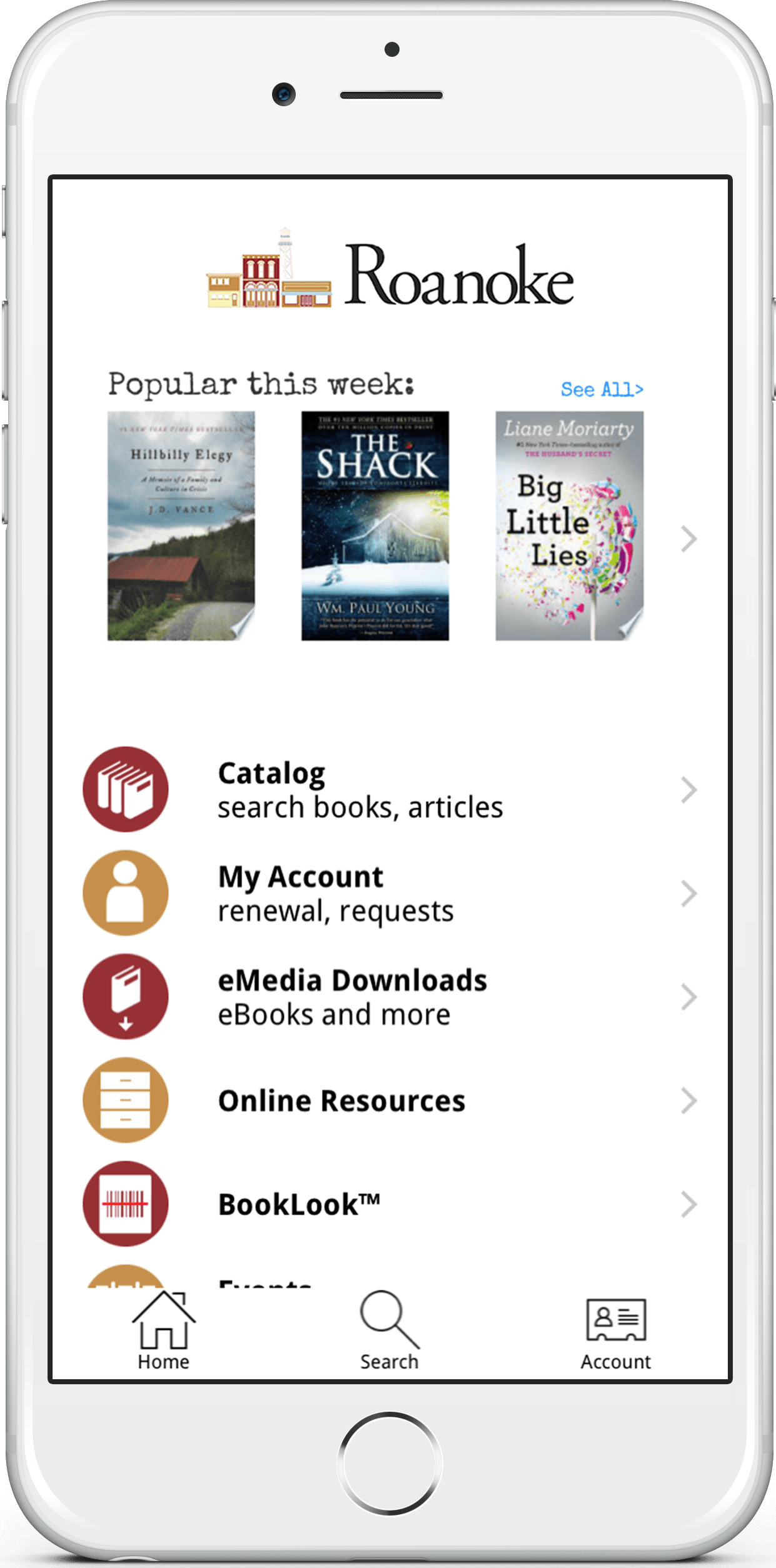 Library Mobile App