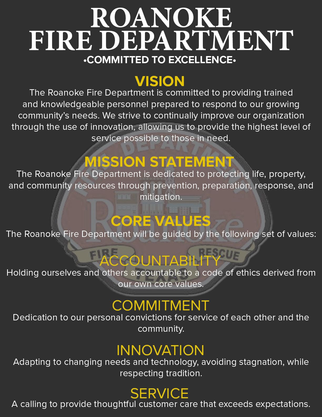 FD Core Values, Vision, MS V2