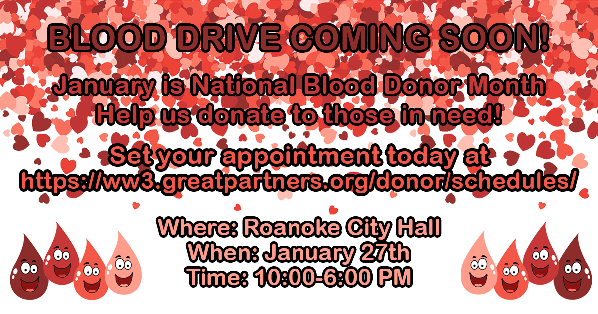 January Blood Drive
